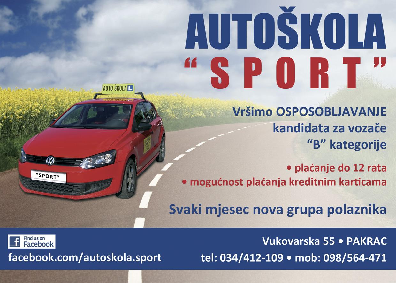 auto skola sport